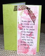 Bookmark Card by C. Davis