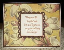 May your life be card by Christine