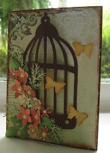 Bird Cage Card by Christine